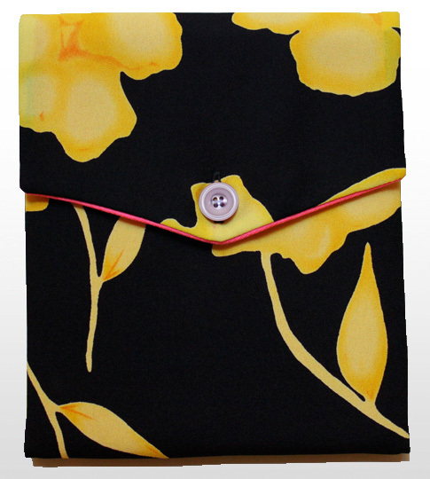 Yellow Poppy iPad Cover