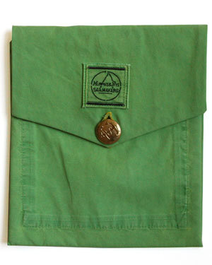 Bernie Madoff Green Murphy & Nye Sailmakers Pants iPad Cover