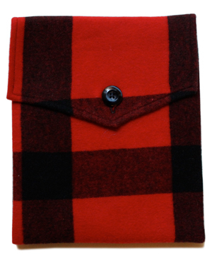 Red Robin Cashmere iPad Cover