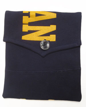 Bernie Madoff MICHIGAN Navy sweatshirt iPad Cover
