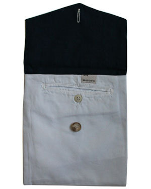 Bernie Madoff, Off-White Mason's Khaki Pants iPad Cover