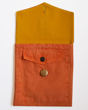 Bernie Madoff Orange Murphy & Nye Sailmakers Pants iPad Cover