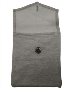 Bernie Madoff iPad Cover, MONTAUK Champion Grey Sweatshirt
