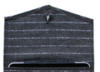 Pinstripes Wool iPad Cover